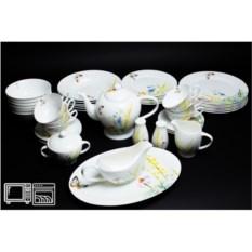 Чайно-столовый сервиз на 6 персон Дейзи бабочки