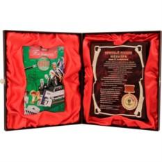 Почетный диплом юбиляра с DVD-открыткой, 40 лет