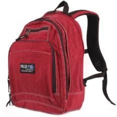 Красный городской рюкзак