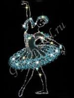 Картина Swarovski Балерина