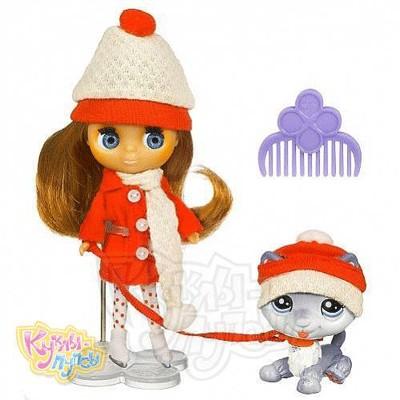 Игровой набор Littlest Pet Shop Зимние холода