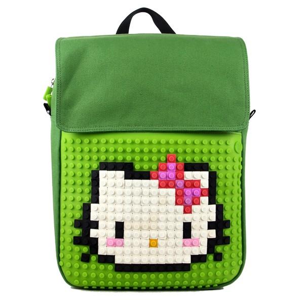 Рюкзак Creative Pixel, зеленый