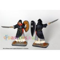 Оловянный солдатик Монах-воин ордена Ионитов 11-12 веков
