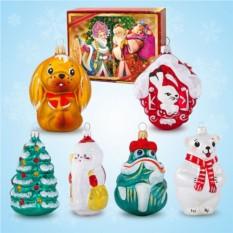 Набор ёлочных игрушек №3