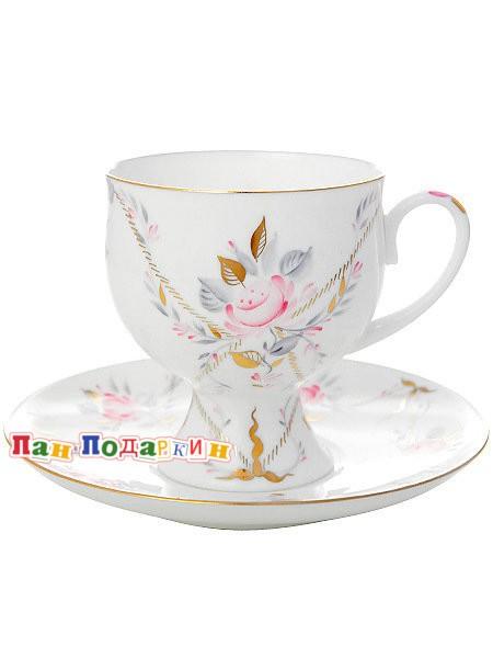 Кофейная чашка с блюдцем Галантный