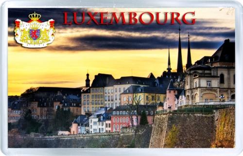Магнит: Люксембург. Закат в Люксембурге