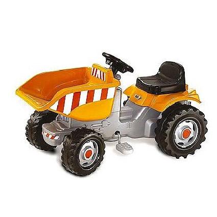 Педальный трактор с ковшом, SMOBY
