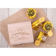 Подарочный набор мёда Для пограничника