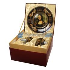 Подарочный набор посуды Коллекция Лувра. Мона Лиза