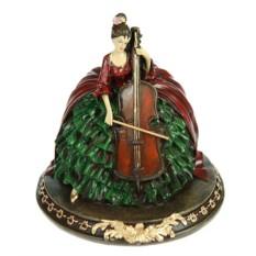 Статуэтка Дама с виолончелью