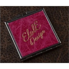 Карманное зеркальце, коллекция Elole Design (розовый)