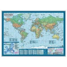 Настольная карта Политический мир