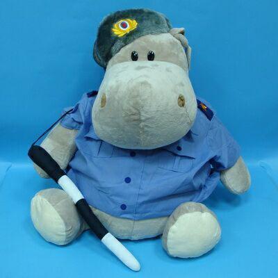 Бегемот-милиционер