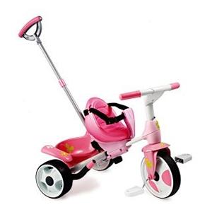 Городской трициклет розовый