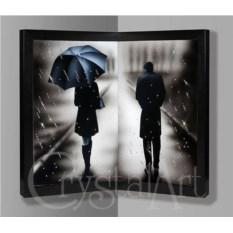 Угловая картина Swarovski Под дождем