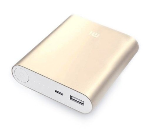 Внешний аккумулятор Xiaomi Mi Power Bank 10400mAh (Gold)