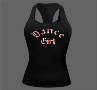 Майка женская Dance girl
