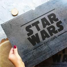 Настенный календарь Star Wars