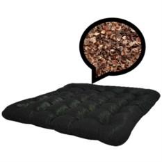Подушка на сиденье с наполнителем из лузги гречихи