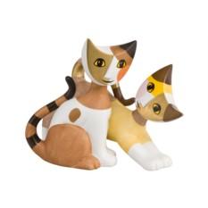 Скульптура кошек Морена и Ерико