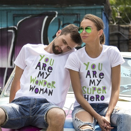 Парные футболки You are my