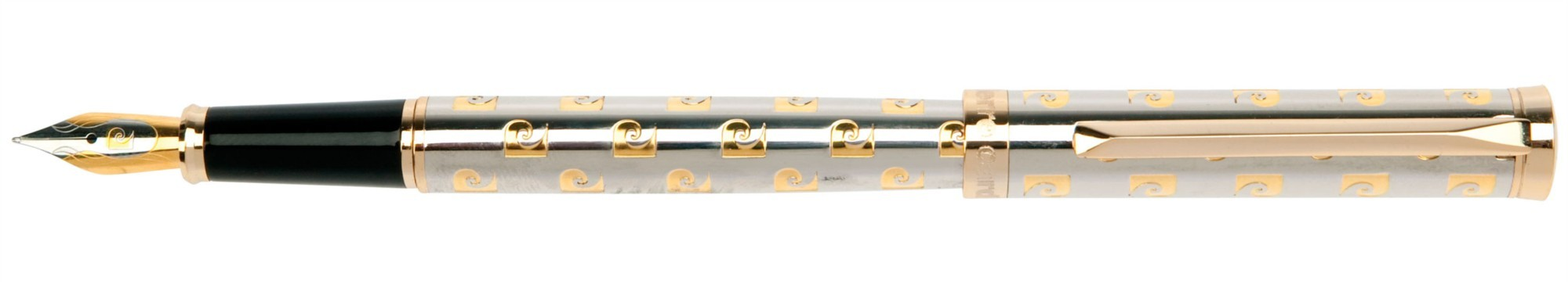 Перьевая ручка хром с гравировкой Pierre Cardin Evolution