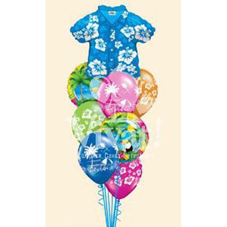 Букет из шаров «Тропики»