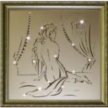 Картина с кристаллами Сваровски Дева