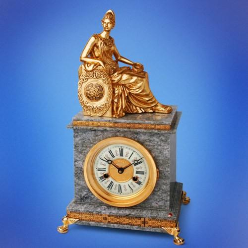 Настольные часы Афина паллада
