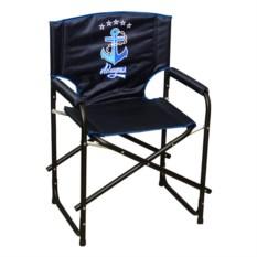 Черное складное кресло Адмирал