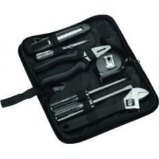 Набор инструментов в чехле, черный, 7 предметов