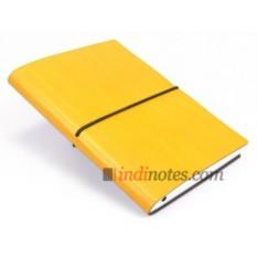 Кожаная записная книжка Ciak Multicolor Yellow Medium