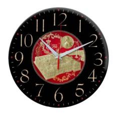 Черные настенные часы Санкт-Петербург. Эрмитаж
