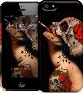 Чехол для iPhone 5 Gelaskins Viva La Muerte