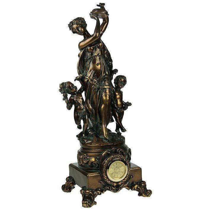 Часы каминные «Деметра»