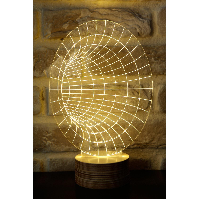 3D лампа Чёрная дыра