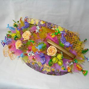 Букет из конфет Сюрприз