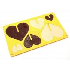 Форма для изготовления конфет Сердце