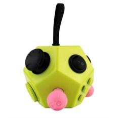 Игрушка-антистресс Fidget Cube 2.0 (цвет: зеленый, розовый)
