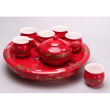Чайный набор «Красный дракон»