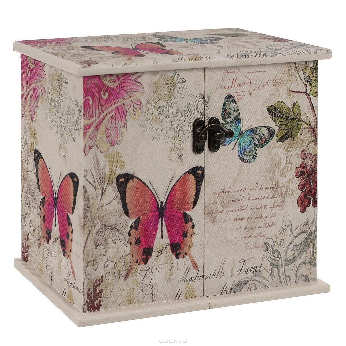 Шкатулка для хранения Бабочки