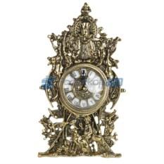 Часы из бронзы Сцены охоты