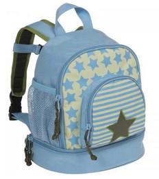 Голубой рюкзак «Звезда»