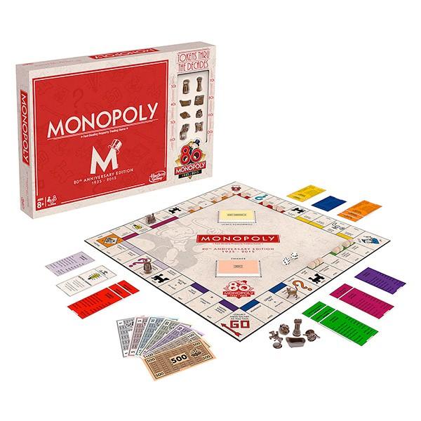 Настольная игра Monopoly Монополии 80 лет
