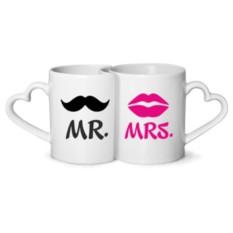 Парные кружки Mr. & Mrs