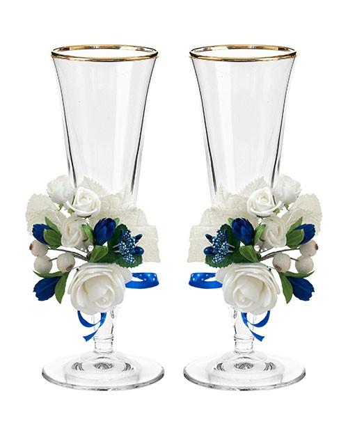 Набор свадебных бокалов Ретро №1 в картонной упаковке