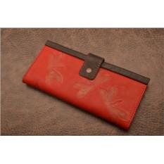 Кожаный кошелек GukFactory  с декоративным тиснением