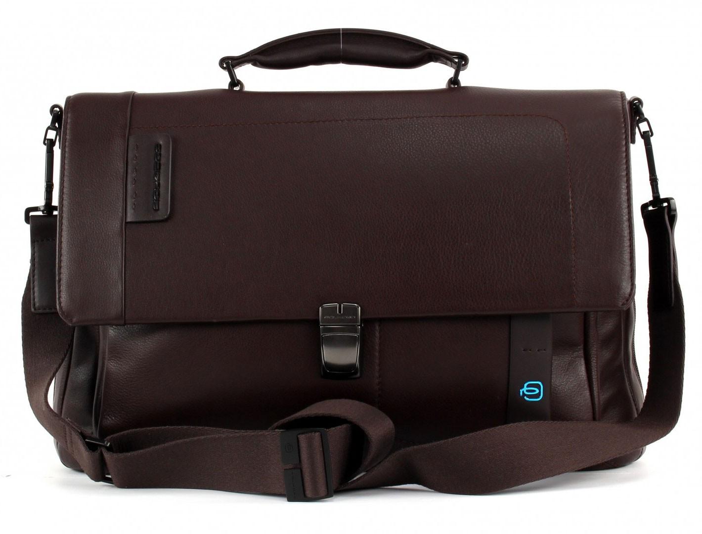 Расширяемый мужской портфель для ноутбука Piquadro Pulse