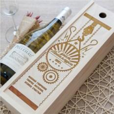 Коробка для вина С Днём металлурга!