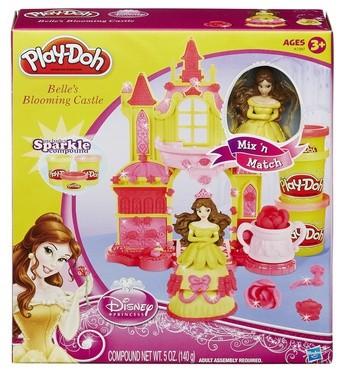 Набор Play-Doh Замок Белль (Hasbro)